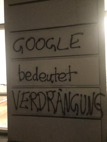 """""""Google bedeutet verdrängung"""""""