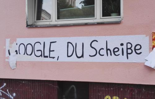 """""""Google, du scheiße"""""""