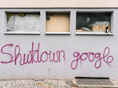 """""""Shutdown Google"""""""